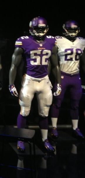 vikings uniforms 2013
