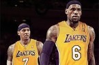 carmelo and lebron as lakers