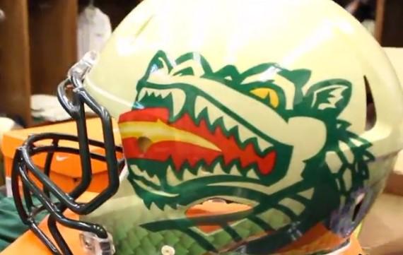 UAB helmet