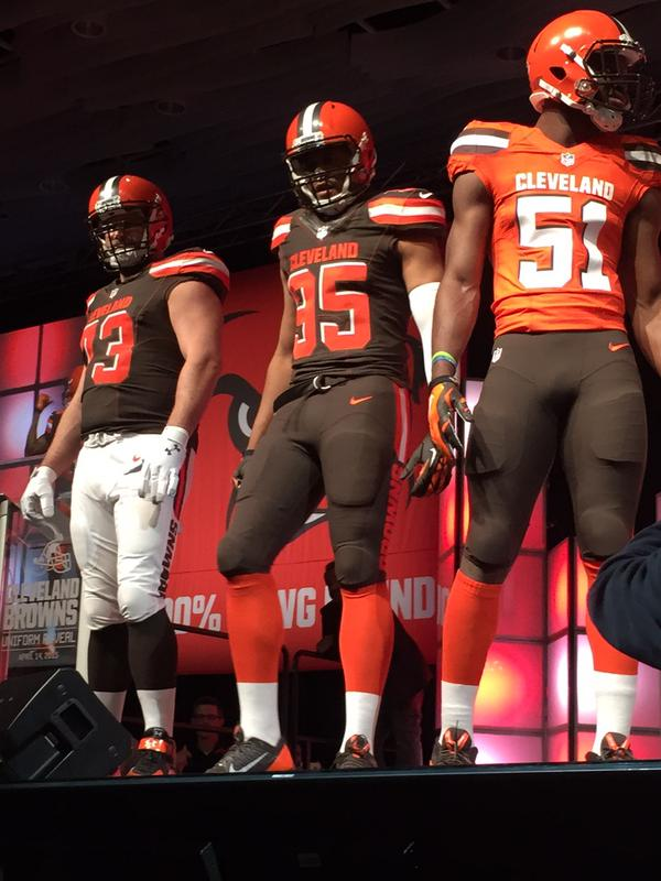 Thoughts on the Browns New Uniforms