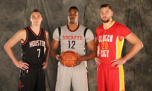 rockets uniforms