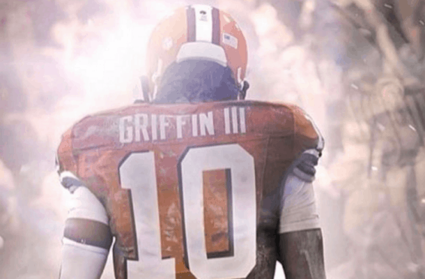 robert griffin browns jersey