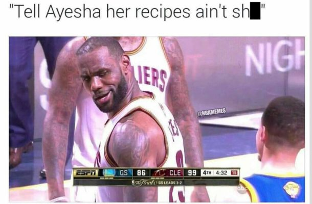 lebron curry ayesha