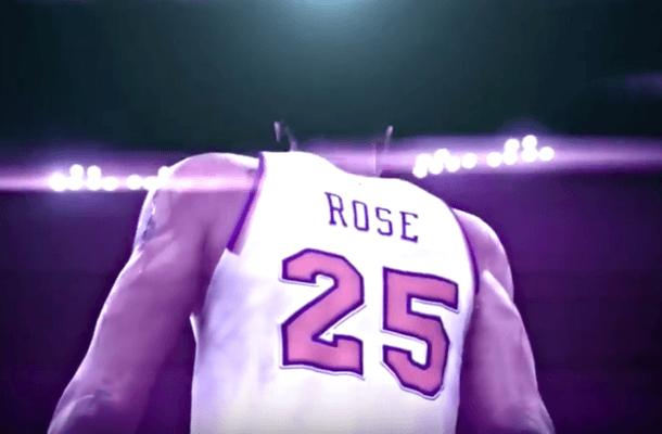 NBA 2K17 rose knicks