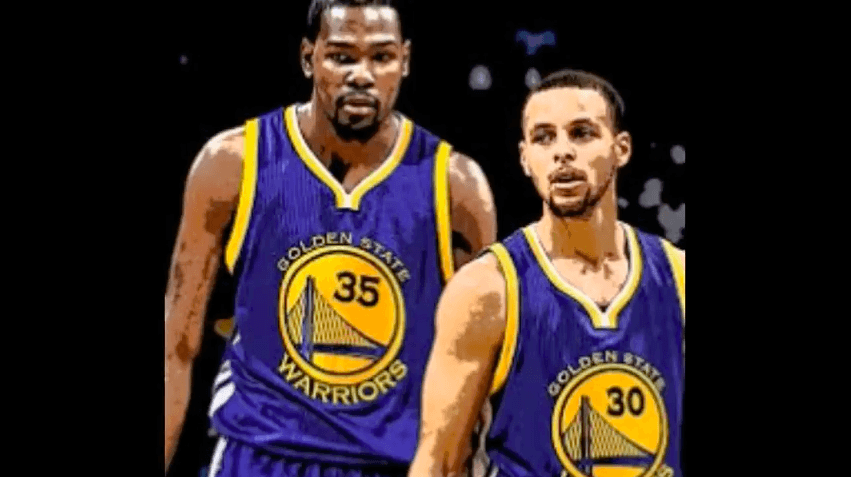 durant warriors
