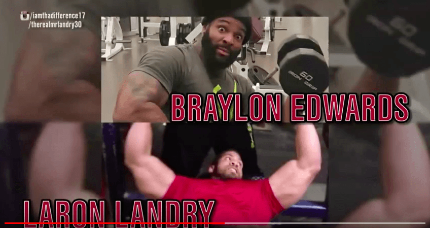 braylon edwards gym